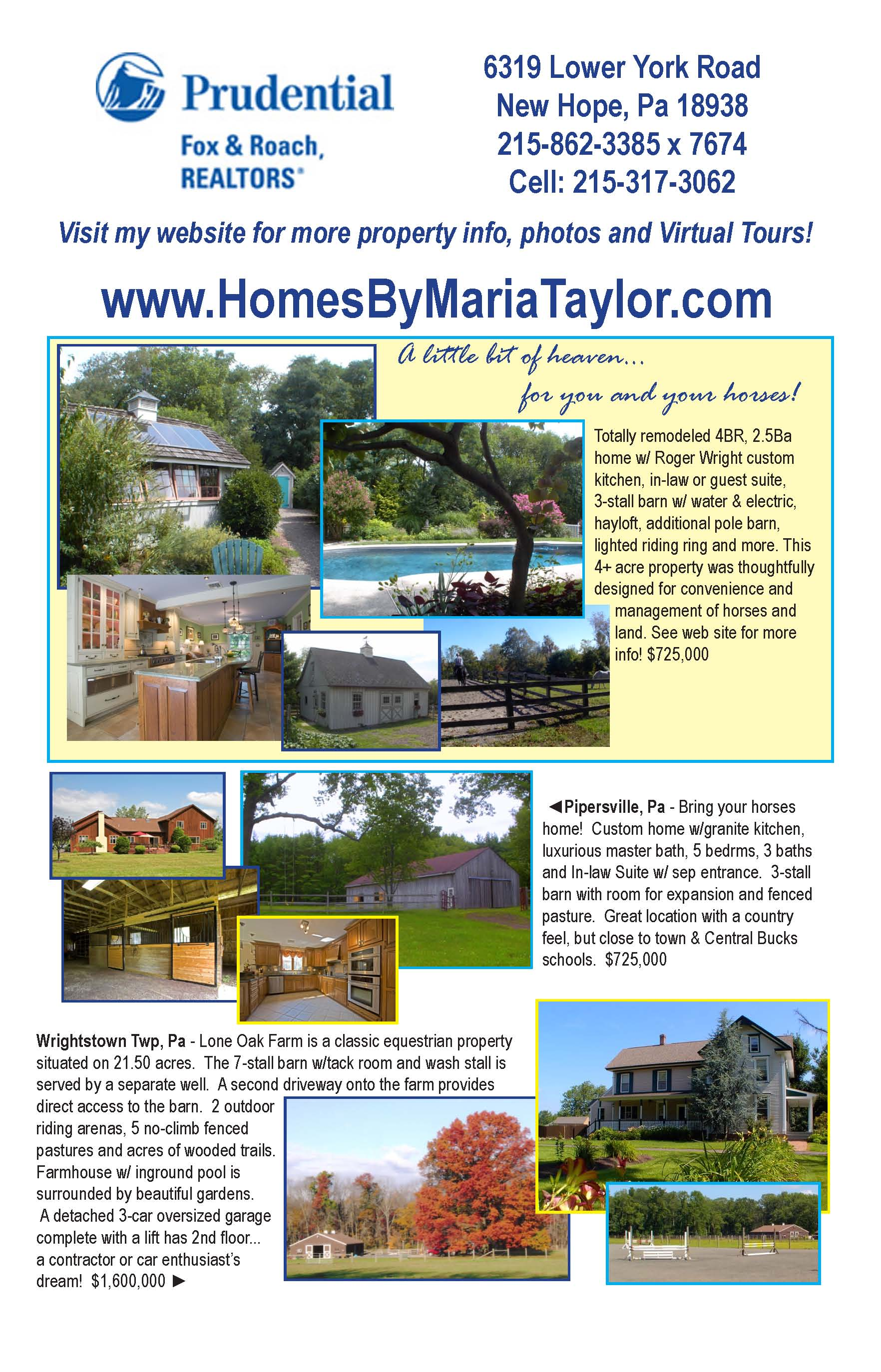 Homes By Maria Taylor