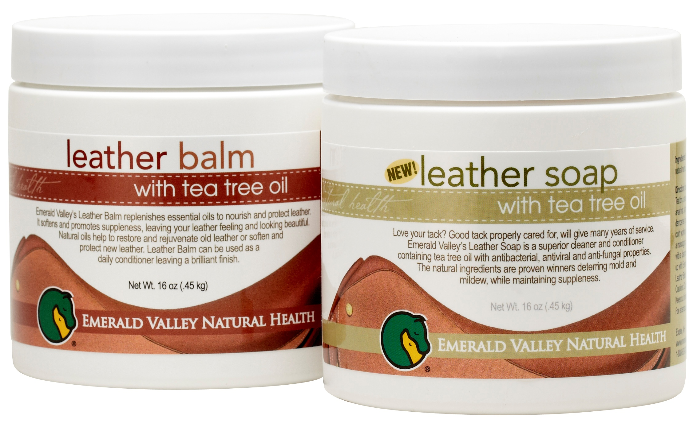 Deter Mold & Mildew! Emerald Valley Leather Soap and Leather Balm ...