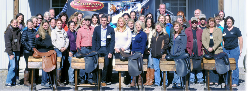 Custom Saddlery Supports Saddle Fitters by Hosting
