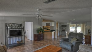 """""""Beautiful & private 10+ acre farm just 5 minutes East of HITS on Hwy 326 in Ocala. Property features a fully furnished double-wide 3/2 split-plan mobile home that has extensive covered decking overlooking the lush pastures and two 2 run-in sheds"""